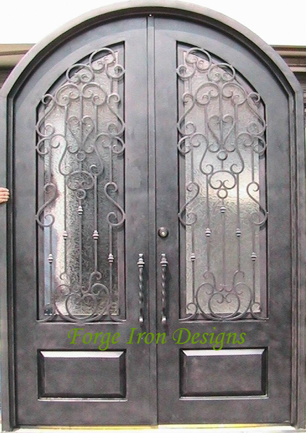 1637 #647238 Wrought Iron Doors Wine Cellar Doors Forge Iron Products AAW Wood  pic Wood Wrought Iron Doors 43111157