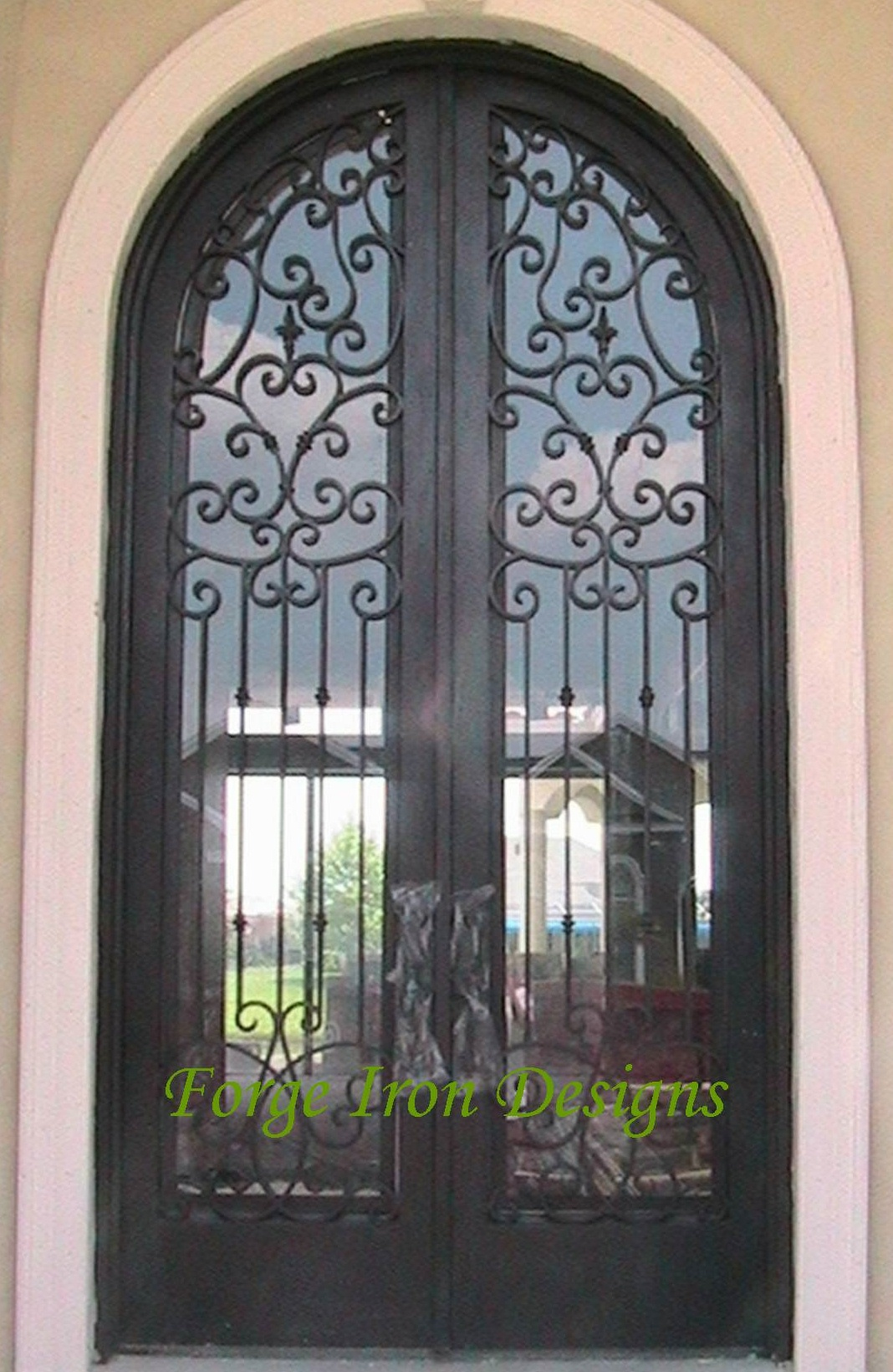 1640 #637830 Wrought Iron Doors Wine Cellar Doors Forge Iron Products AAW Wood  pic Wood Wrought Iron Doors 43111068