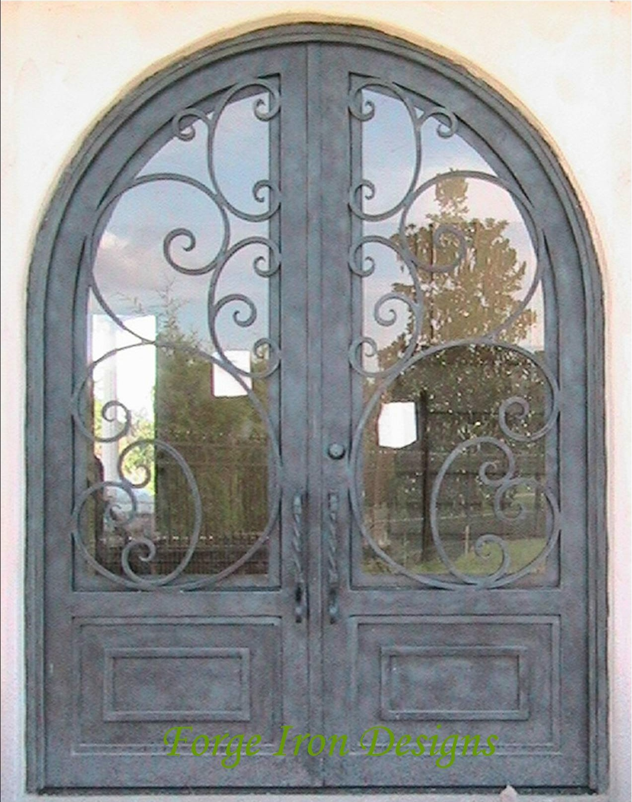 1614 #8B7240 Wrought Iron Doors Wine Cellar Doors Forge Iron Products AAW Wood  pic Wood Wrought Iron Doors 43111273